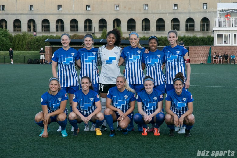 Boston Breakers starting XI.