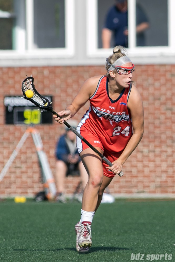 Boston Storm attacker Kate Weeks (24)