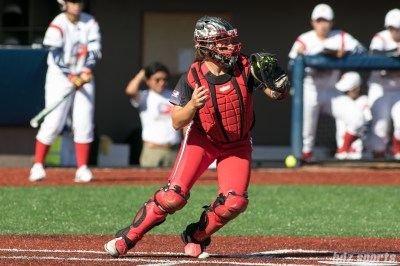 Akron Racers catcher Griffin Joiner (13)