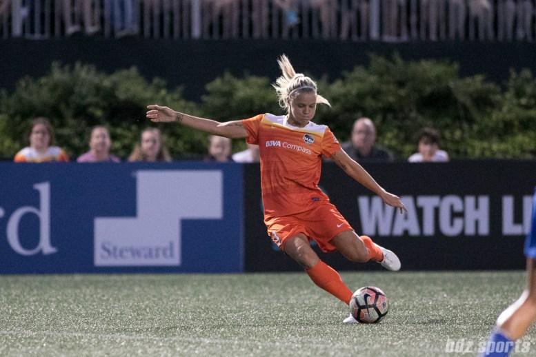 Houston Dash forward Rachel Daly (3)