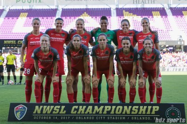 The Portland Thorns FC starting XI
