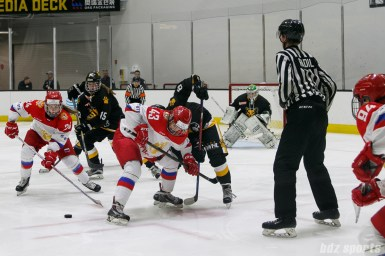 The Russian National Team and Boston Pride face off
