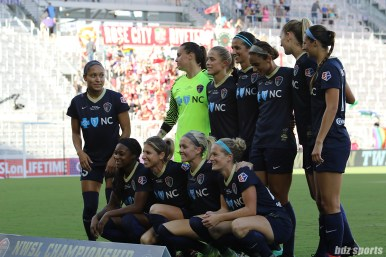 The North Carolina Courage starting XI
