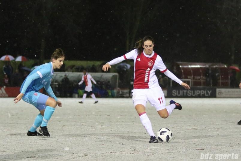 Ajax forward Marjolijn van den Bighelaar (11)