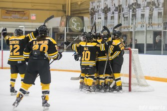 Boston Blades celebration
