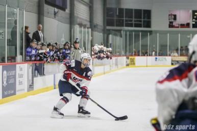 Team USA defender Kacey Bellamy (22)