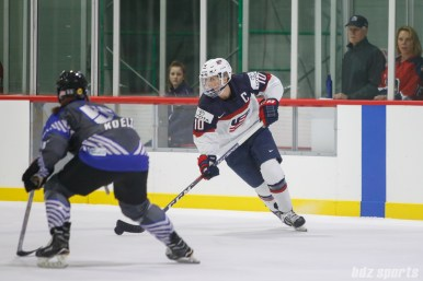 Team USA forward Meghan Duggan (10)