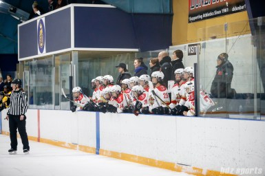The Kunlun Red Stars bench