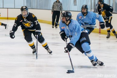 Buffalo Beauts defender Lisa Chesson (11)