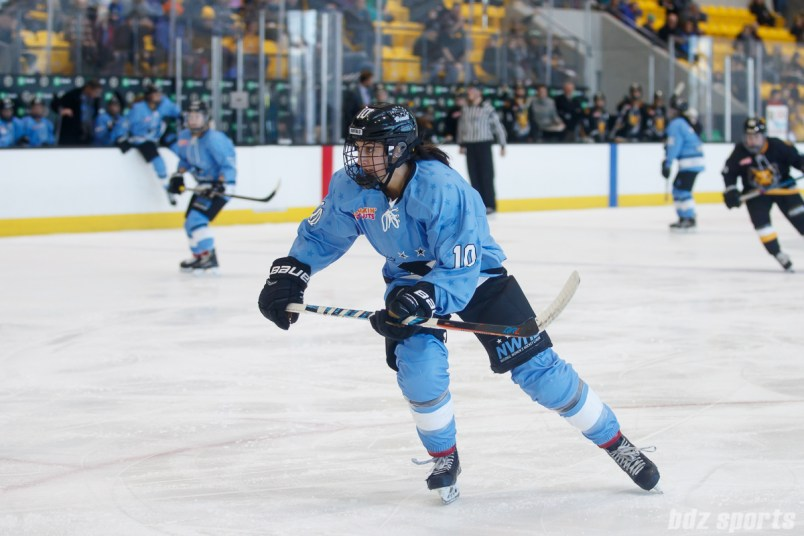Buffalo Beauts defender Sarah Casorso (10)