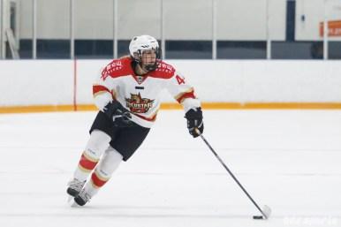 Kunlun Red Star forward Zoe Hickel (44)