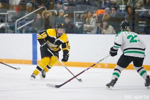 Boston Blades forward Kaitlin Spurling (16)