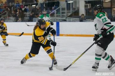 Boston Blades forward Kate Leary (28)