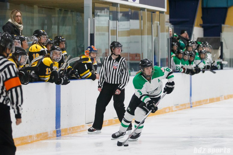 Markham Thunder forward Kristen Richards (9)