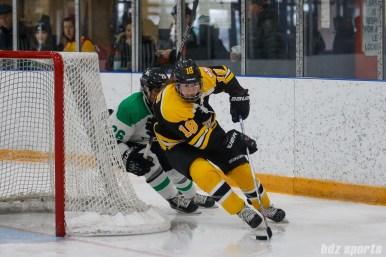 Boston Blades defender Taryn Harris (18)