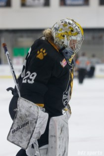 Boston Pride goalie Brittany Ott (29)