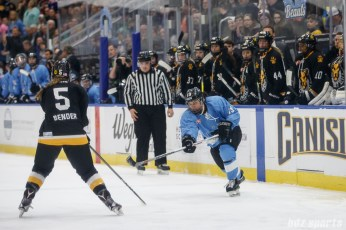 Buffalo Beauts forward Kaylyn Schroka (19)