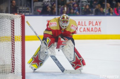 Kunlun Red Star goalie Noora Raty (41)