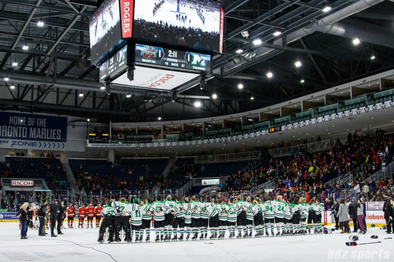The 2018 Clarkson Cup is awarded to the Markham Thunder
