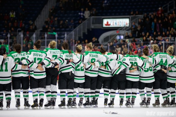 The Markham Thunder are the 2018 CWHL Clarkson Cup Champions