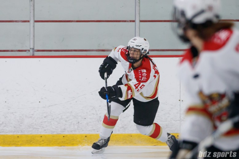 Kunlun Red Star forward Jessica Wong (49)