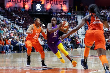 Los Angeles Sparks guard Chelsea Gray (12)