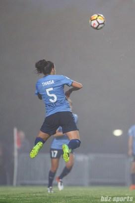Sky Blue FC midfielder Thaisa Moreno (5)