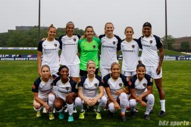 North Carolina Courage starting XI