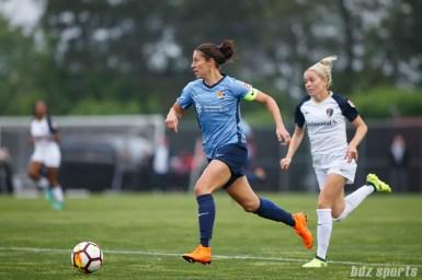 Sky Blue FC midfielder Carli Lloyd (10)