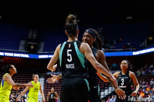 WNBA New York Liberty vs Dallas Wings -May 7, 2018
