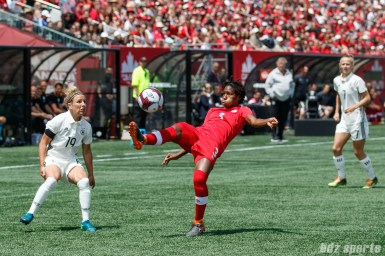Team Canada defender Kadeisha Buchanan (3)