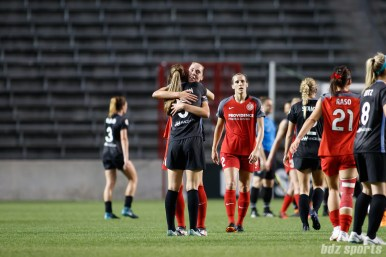 The Chicago Red Stars and Portland Thorns settle for 1-1 tie in their matchup on June 16, 2018.