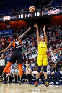 Indiana Fever forward Natalie Achonwa (11)