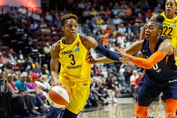 Indiana Fever guard Tiffany Mitchell (3)