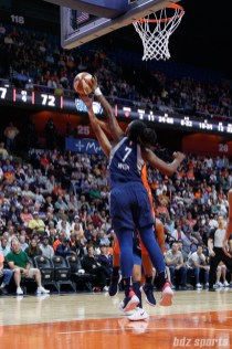 Minnesota Lynx forward Endy Miyem (7)