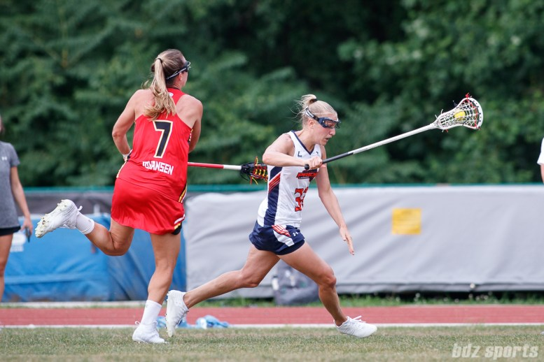 Upstate Pride midfielder Ally Carey (32)