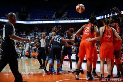 WNBA Connecticut Sun vs Atlanta Dream - July 17, 2018