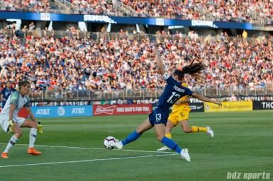 Team USA forward Alex Morgan (13)