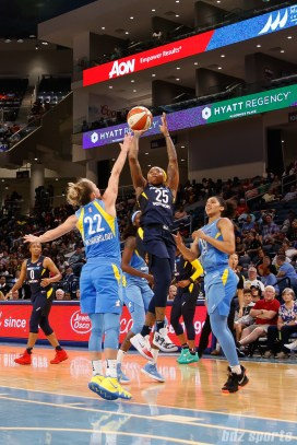 Indiana Fever guard Cappie Pondexter (25)