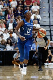 Minnesota Lynx guard Alexis Jones (12)