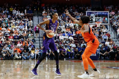 Phoenix Mercury forward DeWanna Bonner (24)