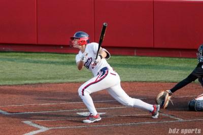 USSSA Pride outfielder Kirsti Merritt (24)
