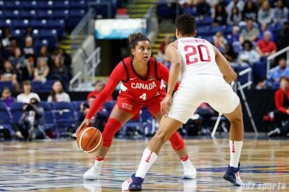 Team Canada guard Miah-Marie Langlois (4)