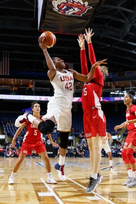Team USA forward Nneka Ogwumike (42)