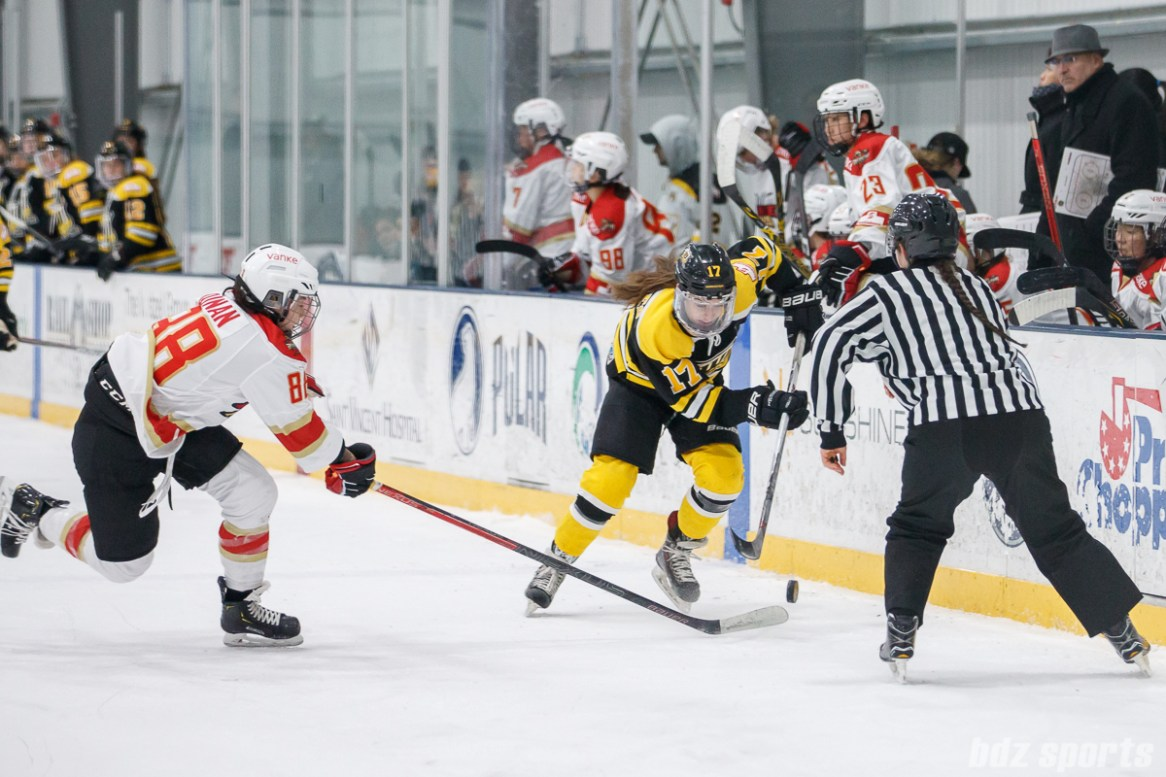 CWHL - Worcester Blades vs Shenzhen KRS Vanke Rays January 6, 2019