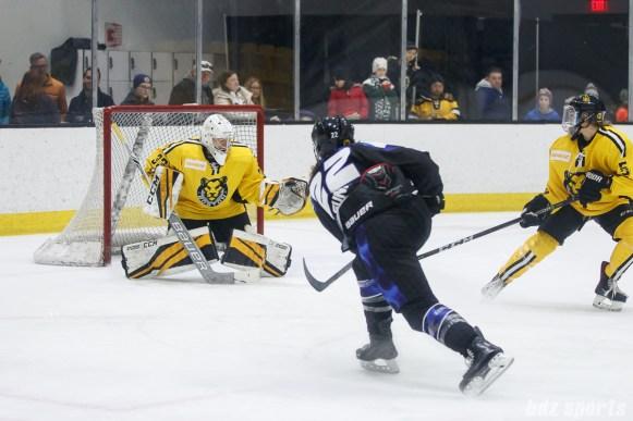 Boston Pride goalie Katie Burt (33)