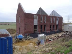 Construction de deux habitations à héron