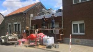 Démarrage du chantier à Milmort