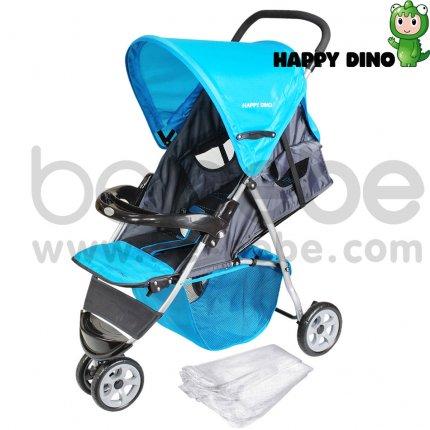 รถเข็นเด็ก Happy Dino : Stroller LC200H-H110+net