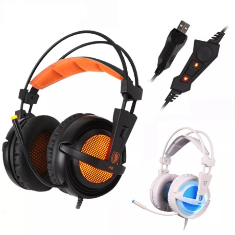 Casque Audio A6 Pro Effet Surround